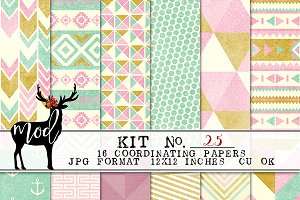 Background Paper Kit 25