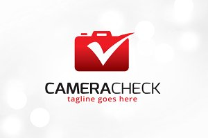 Camera Check Logo Template