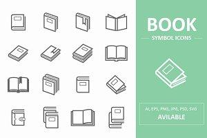 Book Symbol Icons