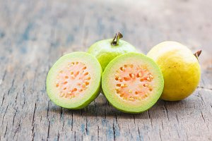 Fresh guava fruit