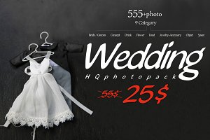 555+Photo Wedding Pack
