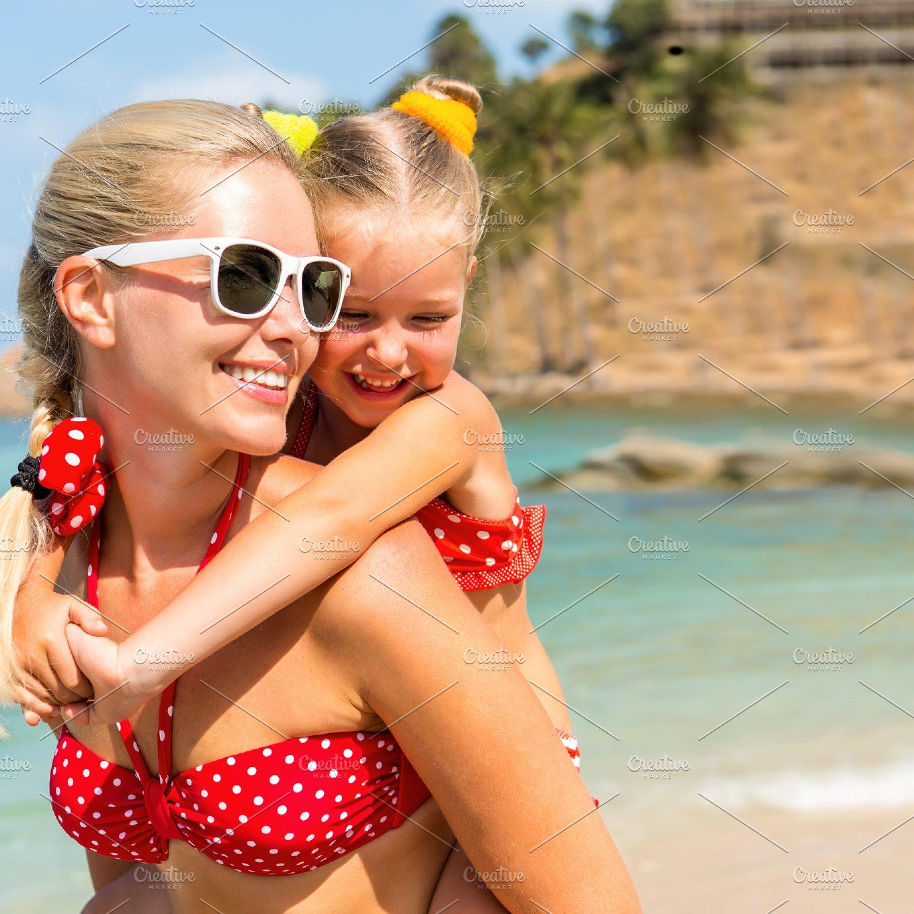 91dfe8fb01 Happy Mothers day. Girl, mom, beach. ~ Holiday Photos ~ Creative Market
