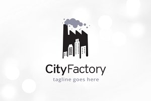 City Factory Logo Template