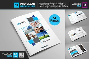 Clean Brochure Template 11