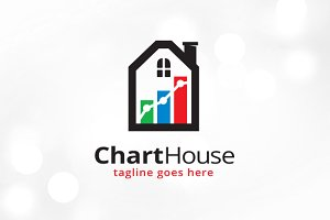 Chart House Logo Template