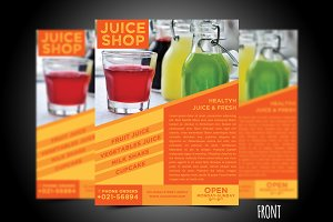 Juice Flyer Template