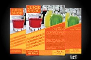Juice Flyer Template