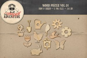Wood Pieces Vol.01