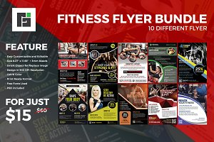 Fitness Flyer Bundle