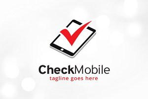 Check Mobile Logo Template