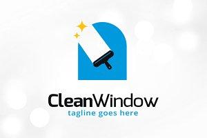 Clean Window Logo Template