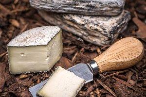 A farmstead cheese