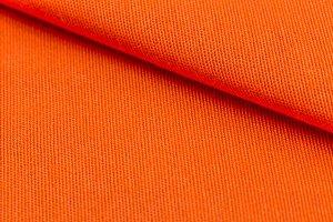 Orange weave material
