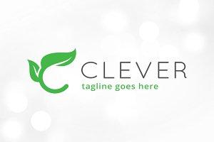 Leaf Letter C Logo Template