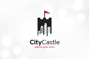 City Castle Logo Template