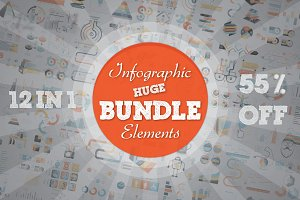 55% OFF Infographic Bundle