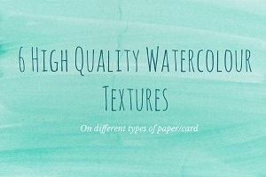 6 Watercolour Textures