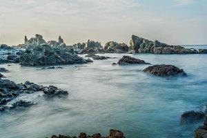 Rocks in Beach