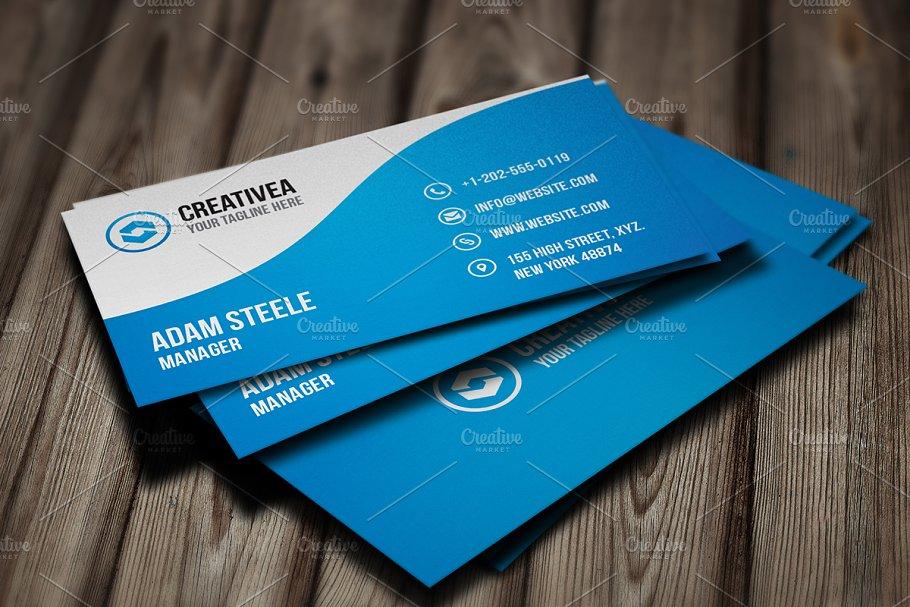 Creative Business Card - Business Card Templates | Creative Market Pro