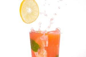 Splash of watermelon mojito