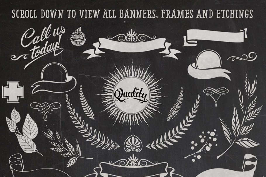 Banners, Frames & Etchings in Objects - product preview 6