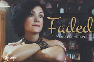 40 Fade and Matte Photoshop Actions
