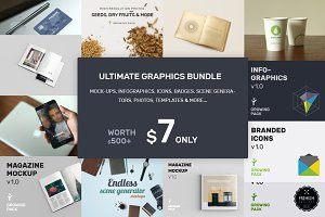 Ultimate Graphics Bundle $39