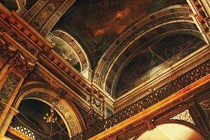 Interior Church Ceiling