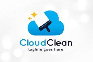 Cloud Clean Logo Template