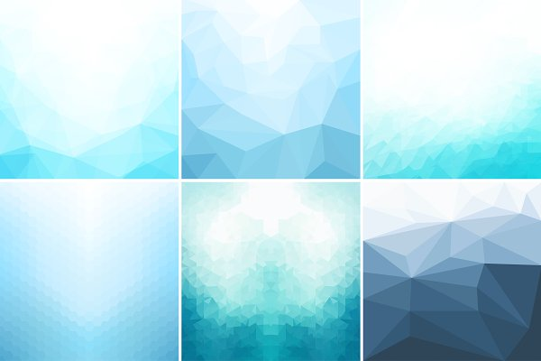 Blue abstract geometric backgrounds…