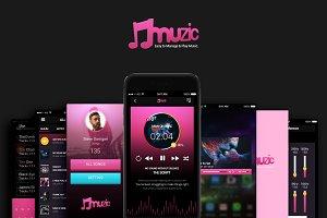 Muzic (Music App UI)