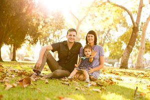 Lifestyle Family Portrait Photograph