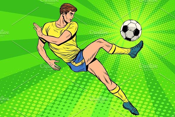 Football Has A Soccer Ball