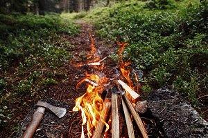 Norway Campfire
