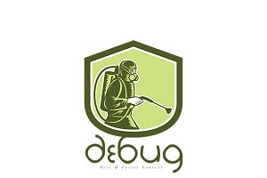 Debug Pest and Insect Control Logo