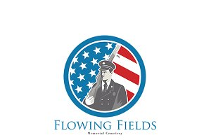 Flowing Fields Memorial Logo