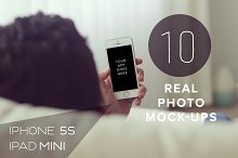 10 real photo Apple Mock ups