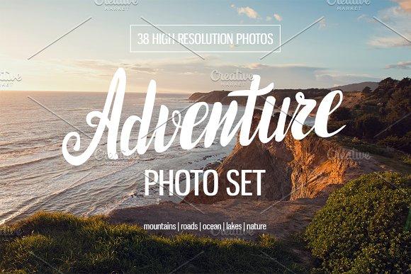 Adventure photo set