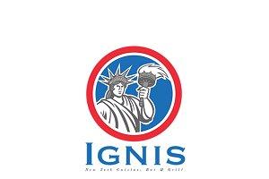 Ignis New York Cuisine Logo