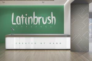 Latinbrush Typeface