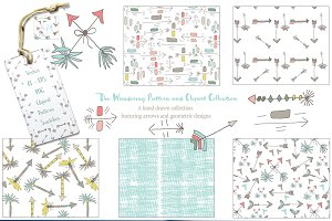 Wandering Pattern Clipart Collection