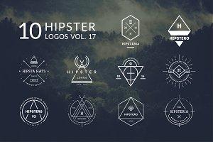 10 Hipster Logos Vol. 17