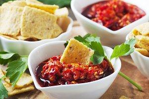 Hot messican salsa