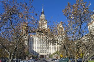 Moscow State University. October