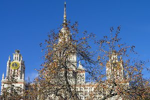 Moscow State University in October