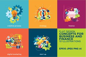 Concepts for business and finance