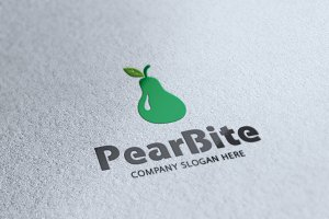 Pear Bite Logo