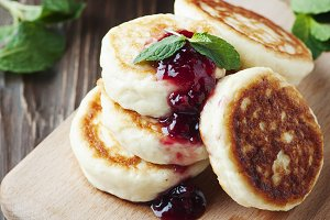 Cottage cheese pancake