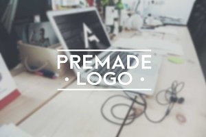 Premade letter (A) logo