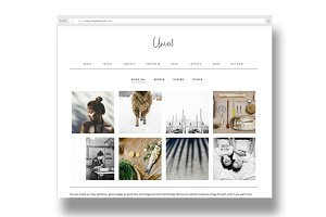unveil / a portfolio + shop + blog